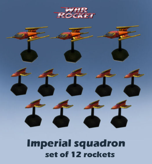 Imperial Squadron (set of 12 rockets)