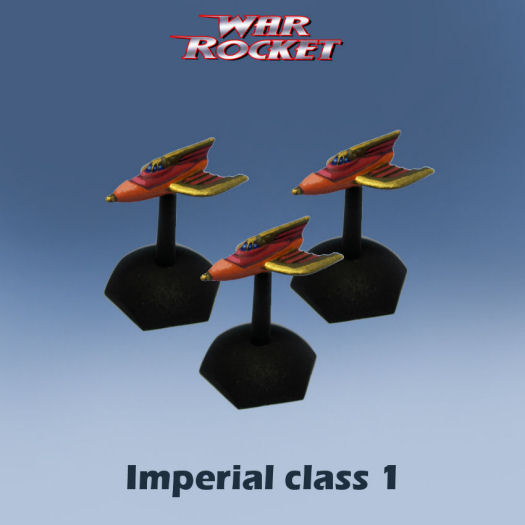 Imperial Class 1 (pack of 3 rockets)
