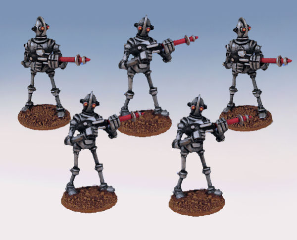 Robot Legionnaire Unit (Pack of 5)