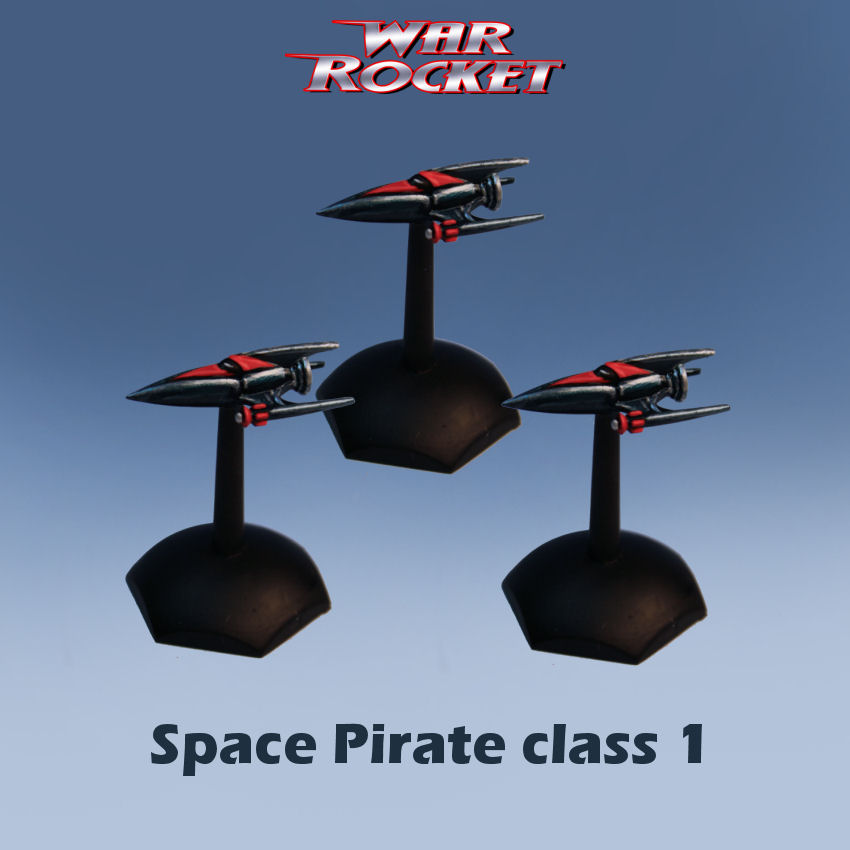 Space Pirate class 1 (pack of 3)