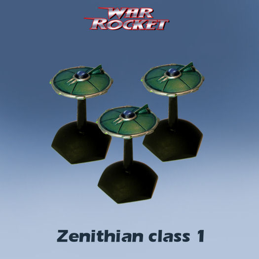 Zenithian Class 1 (pack of 3 rockets)